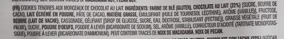 Cookies soft baked - Ingrediënten - fr