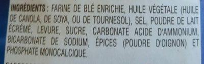 Goldfish - Ingrediënten - fr