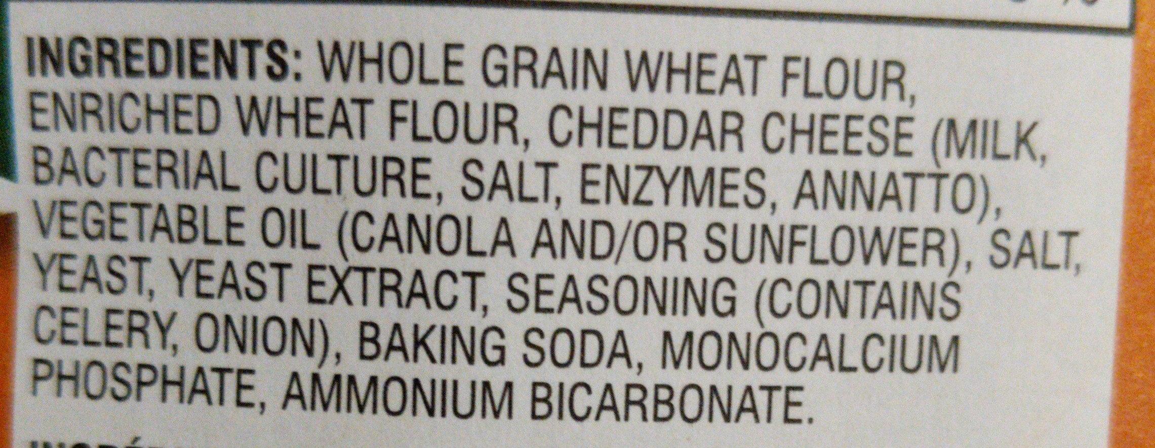 Goldfish Cheddar - Ingredients - en