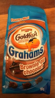 Goldfish Grahams - Brownie au chocolat - Product - fr