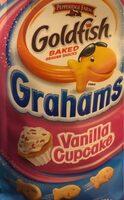 Vanilla Cupcake Goldfish grahams - Product - fr