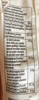 Roasted Salted Almonds - Voedingswaarden - fr