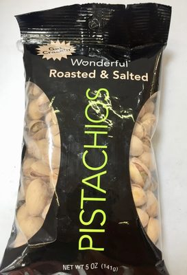 Pistachios roasted & salted - Producto - es