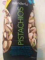 Pistachos tostados sin sal XXL envase 220 g - Ingredients - fr