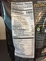 Pistachios - Nutrition facts - en