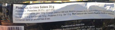 Pistachios - Ingredients