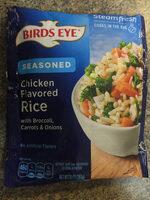 Lightly seasoned chicken flavored rice - Product - en