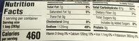 Lightly seasoned chicken flavored rice - Nutrition facts - en