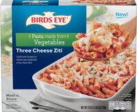 Three cheese ziti zucchini lentil ziti pasta - Produit - en