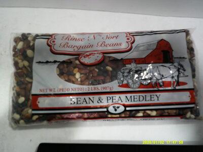 Bean & Pea Medley - Ingredients - en