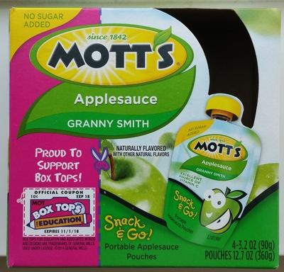 Unsweetened applesauce - Product - en