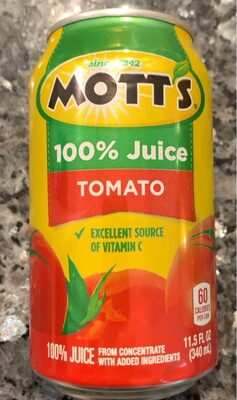 Mott's tomato juice - Product