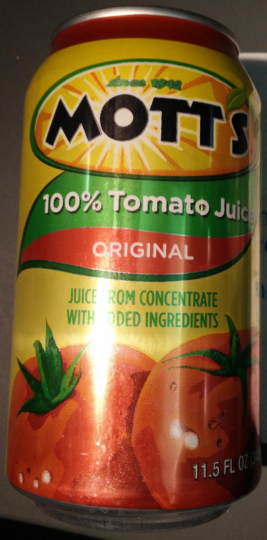 Mott's tomato juice - Produit