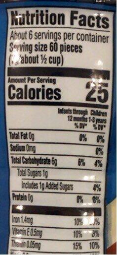 puff strawberry apple - Giá trị dinh dưỡng - en