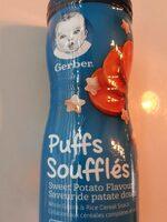 Puffs soufflés - Produit - fr
