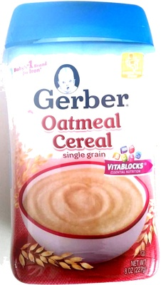 Oatmeal Cereal single grain - Product