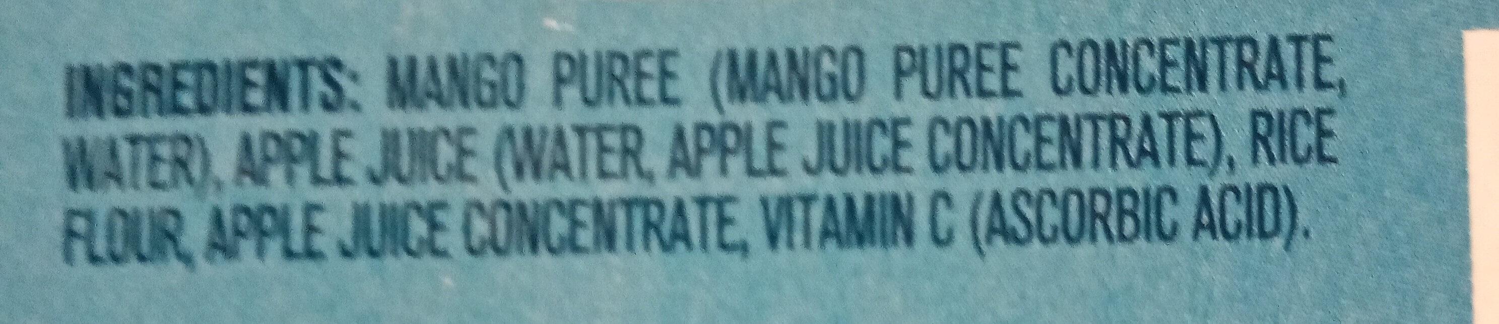 Mango, Apple twist - Ingredients - en