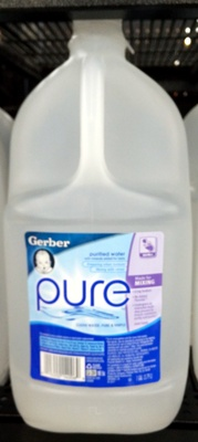 Purified water with minerals - Product - en