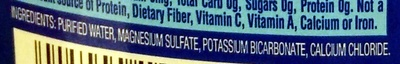 Purified water with minerals - Ingredients - en