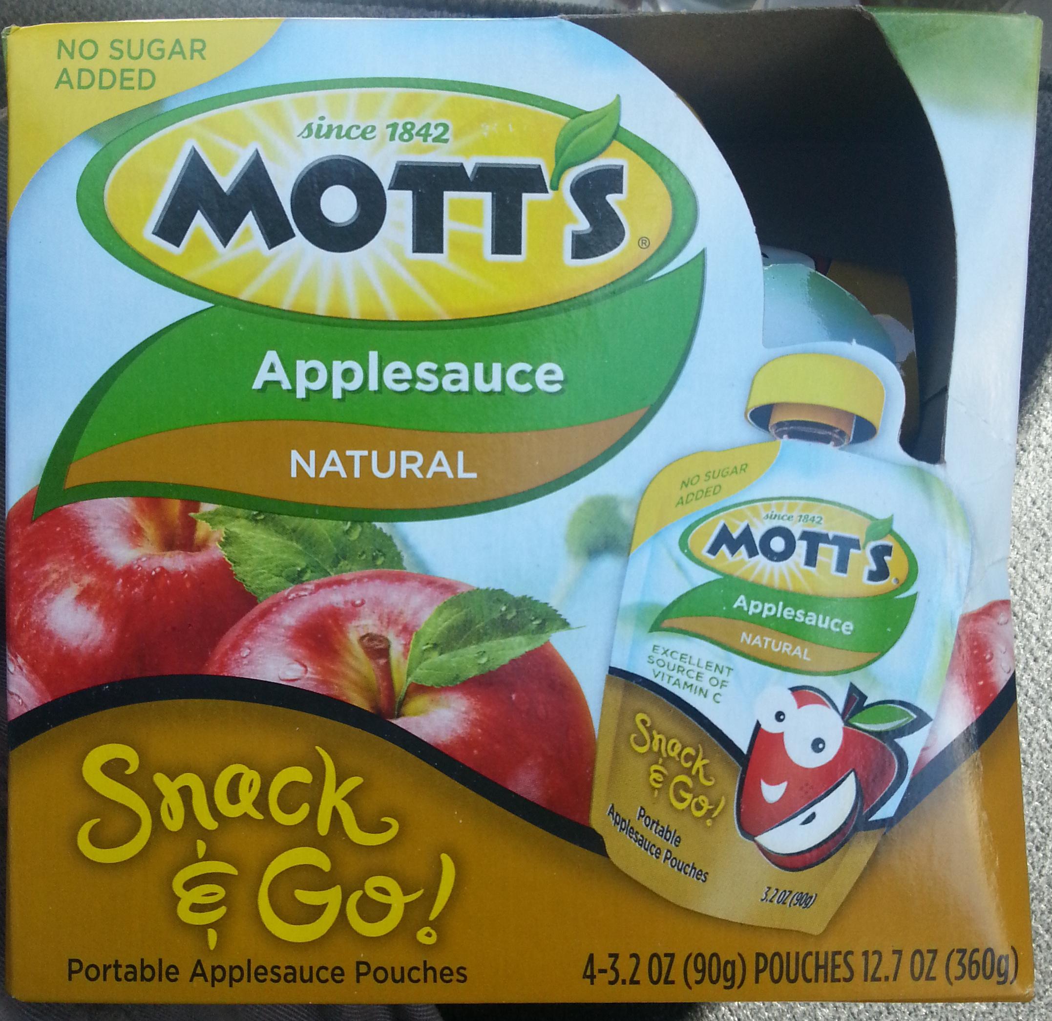 Applesauce Natural - Product - en