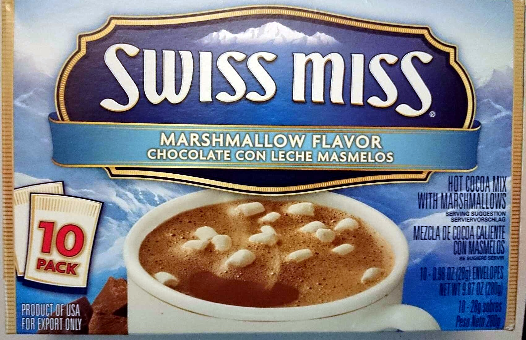 Swiss Miss Marshmallow Flavour - Product