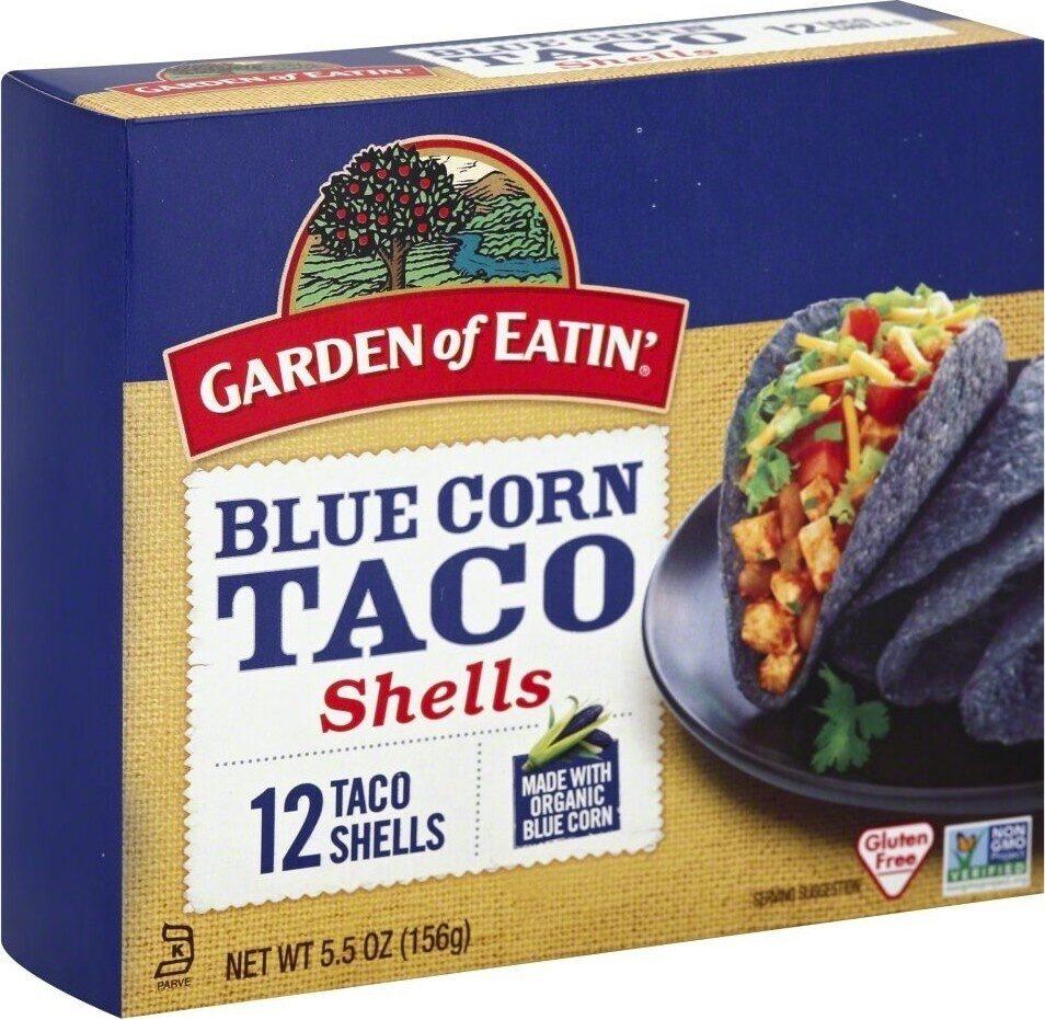 Blue corn taco shells - Product - en