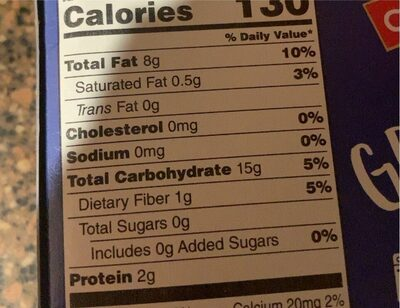 Blue corn taco shells - Nutrition facts - en