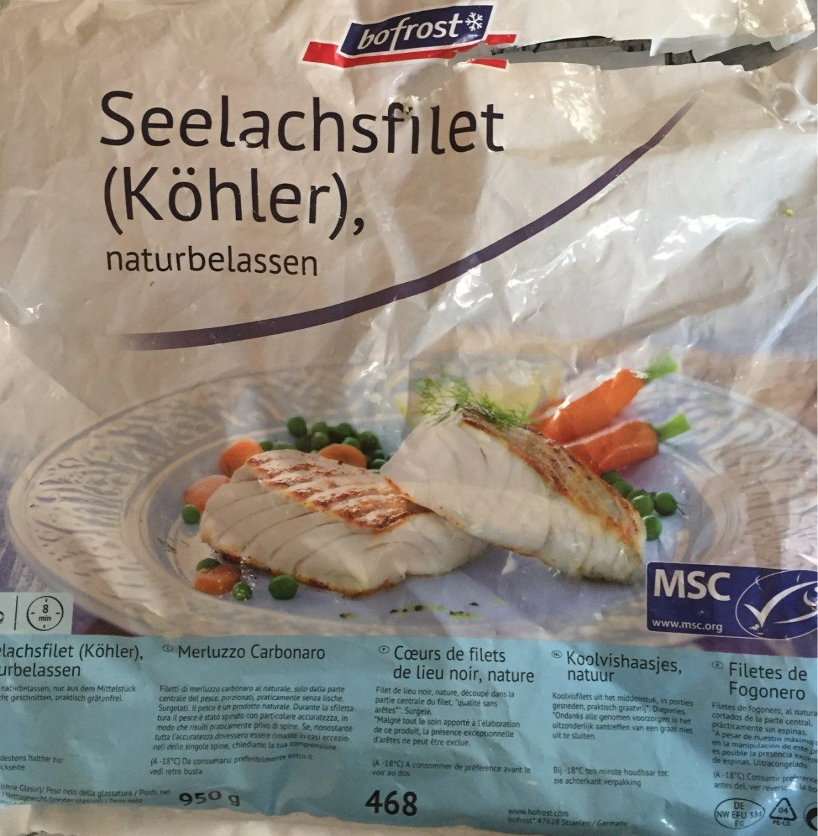 Seelachsfilet (köhler) - Produit