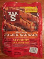 Smoked polish sausage - Produit - en