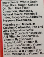 Cinnamon Chex - Ingrediënten
