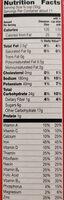 Cinnamon Chex - Voedigswaarden