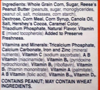 Reese's puffs - Ingredients