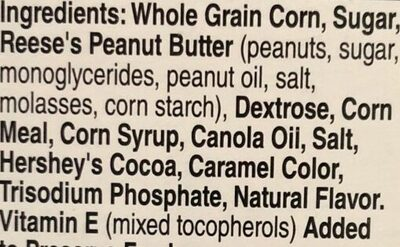 Reese's Puffs Cereal - Ingredients - en