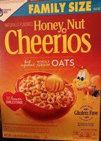 Honey Nut Cheerios Cereal - Product - en