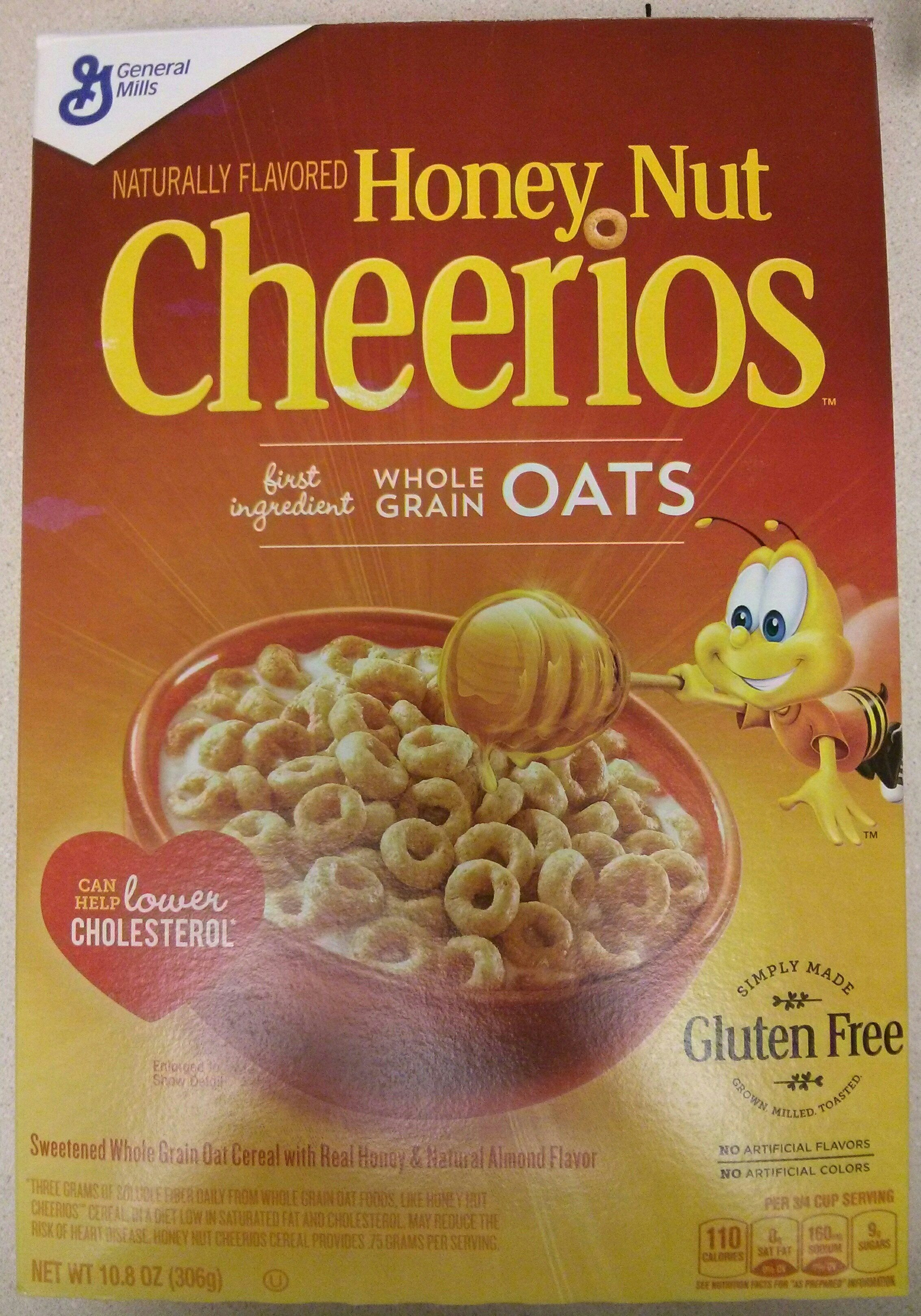 Honey nut whole grain oat cereal - Product
