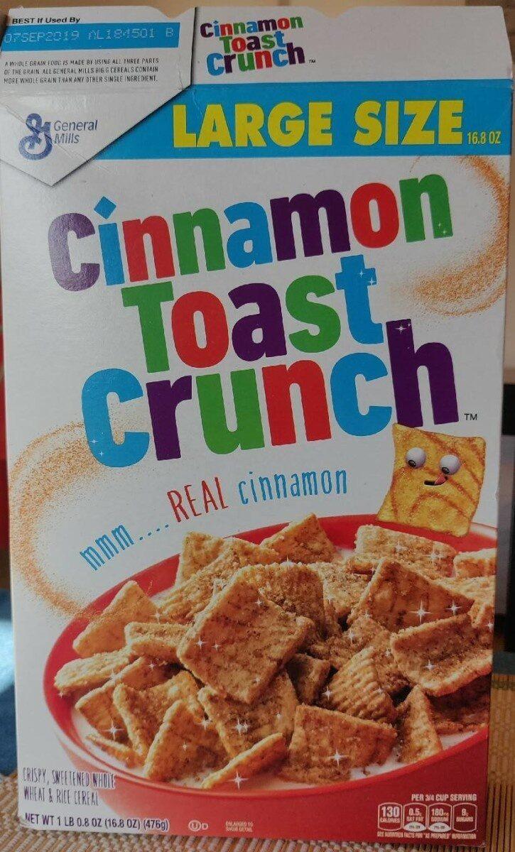 Cinnamon Toast Crunch Cereal - Producto - es