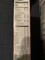 Peach Cheerios Cereal - Informations nutritionnelles - en