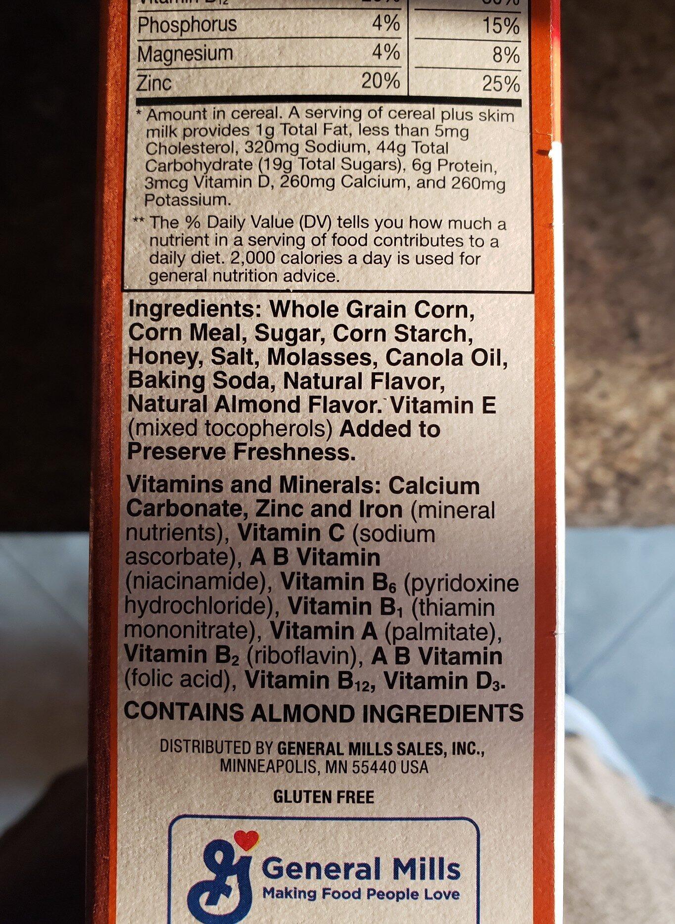 Honey nut chex - Ingrediënten - en