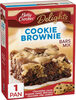 Delights cookie brownie bars mix - Product