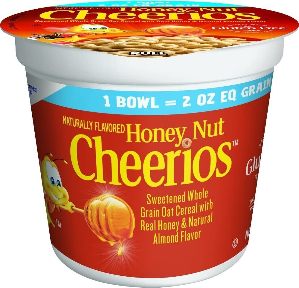 Honey nut cup breakfast cereal - Prodotto - en