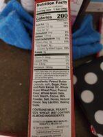 Pb chocolate crispy creamy wafer bar - Ingredients - en