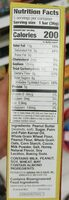 Pb chocolate crispy creamy wafer bar - Nutrition facts - en