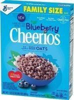 Blueberry sweetened whole grain oat cereal - Prodotto - en