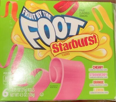 Fruit by the Foot Starbust Flavored - Produit - en