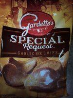 Garlic Rye Chips - Product