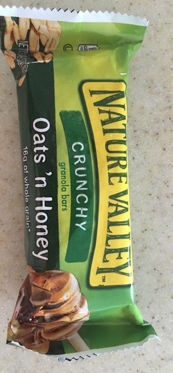 Crunchy Granola Bars Oats 'n Honey - Produit