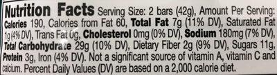 Elmer Chocolate - Nutrition facts - en