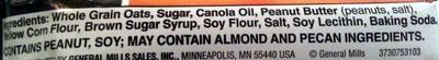Crunchy Peanut Butter Granola Bar - Ingredients - en