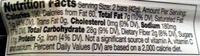 Crunchy Peanut Butter Granola Bar - Nutrition facts - en