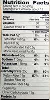 Cereal - Voedingswaarden